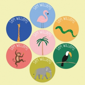 Go-Wild-Personalised-Kids-Stickers-Pack-of-35