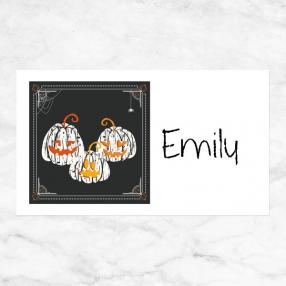 Pumpkin Trio - Halloween Party Sticker - Pack of 10