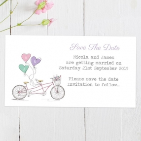 Tandem Love - Save the Date Magnets