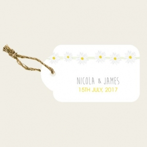 Delicate Daisies - Favour Tags