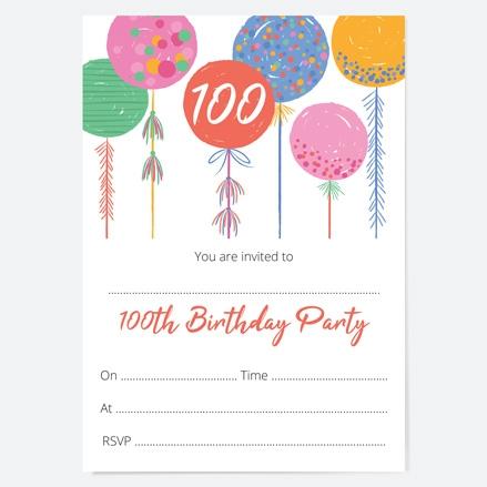 100th-birthday-invitations-bright-balloons-thumbnail