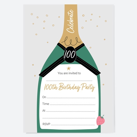 100th-birthday-invitations-strawberry-champagne-bottle-thumbnail