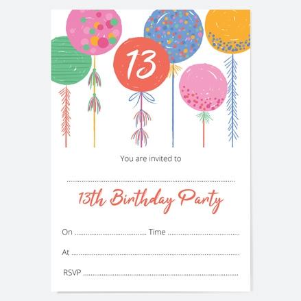 13th-birthday-invitations-bright-balloons-thumbnail