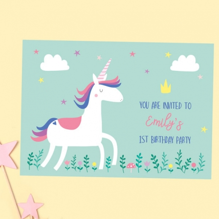 1st-Birthday-Invitations-Unicorn-Magic