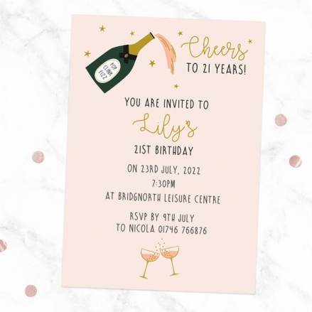 21st-birthday-invitations-champagne-blush