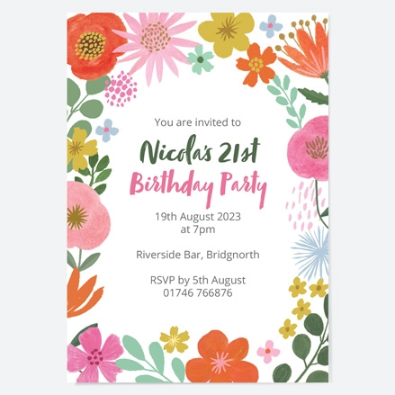 21st-birthday-invitations-beautiful-blooms-flowers-birthday-party-thumbnail