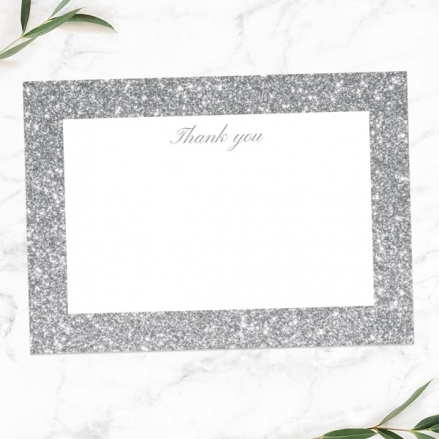 25th-Anniversary-Thank-You-Cards-Simple-Glitter-Effect