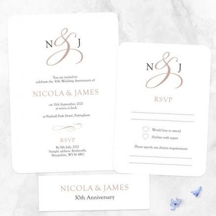 30th-Wedding-Anniversary-Invitations-Classic-Monogram