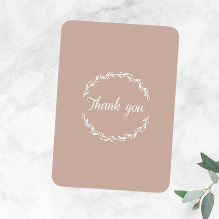 30th-Anniversary-Thank-You-Cards-Photo-Strip-Leaf-Pattern