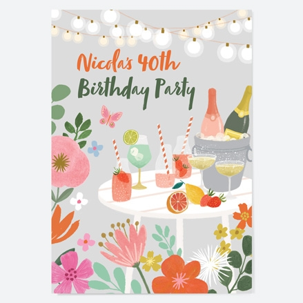 40th-birthday-invitations-beautiful-blooms-drinks-summer-party-thumbnail
