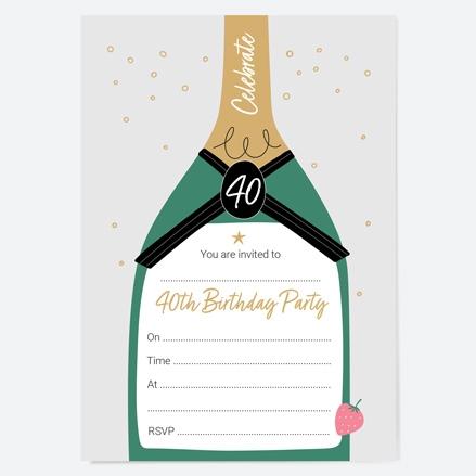 40th-birthday-invitations-strawberry-champagne-bottle-thumbnail