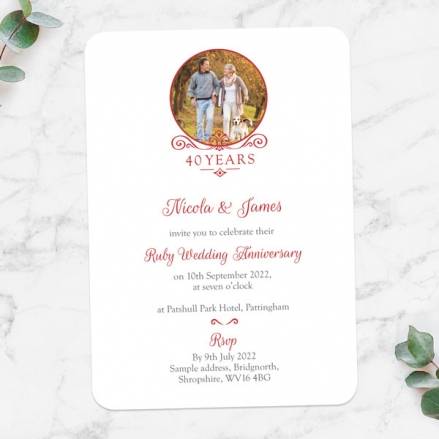 40th-Wedding-Anniversary-Invitations-Ornate-Scroll-Photo