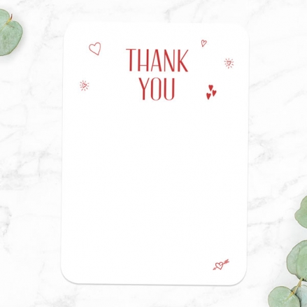 40th Anniversary Thank You Cards - Modern Photo Collage