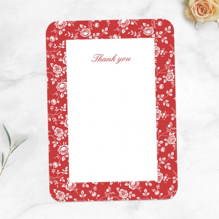 40th-Anniversary-Thank-You-Cards-Delicate-Rose-Pattern