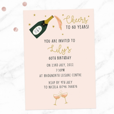60th-birthday-invitations-champagne-blush