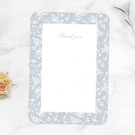 60th-Anniversary-Thank-You-Cards-Delicate-Rose-Pattern
