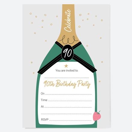 90th-birthday-invitations-strawberry-champagne-bottle-thumbnail