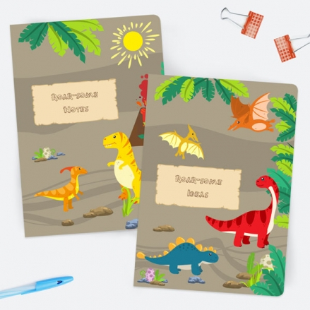 Dinosaur-World-A5-Exercise-Books-Pack-of-2