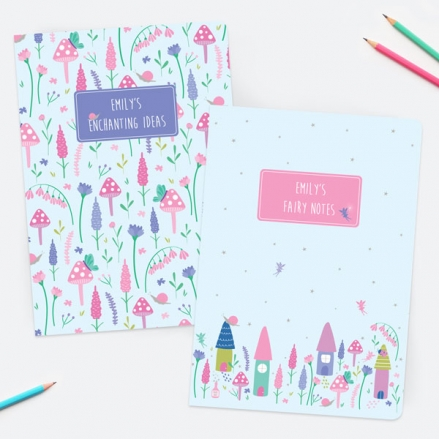 A5-Exercise-Books-Pack-of-2-Fairy-Garden