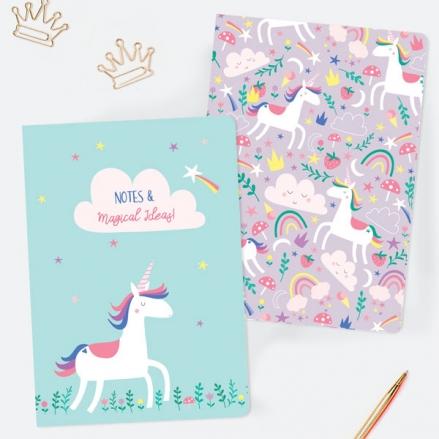 Unicorn-Magic-A5-Exercise-Books-Pack-of-2