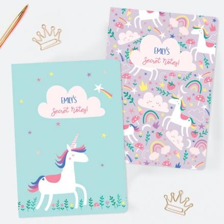 A5-Exercise-Books-Pack-of-2-Unicorn-Magic