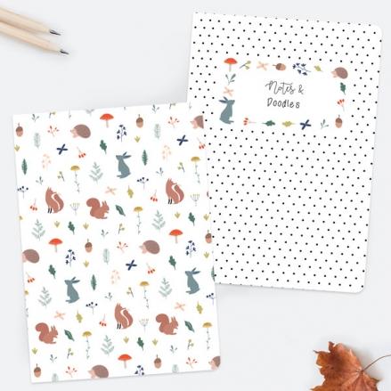 whimsical-forest-exercise-books