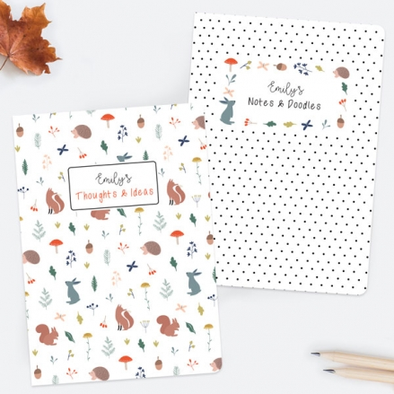 whimsical-forest-personalised-exercise-books