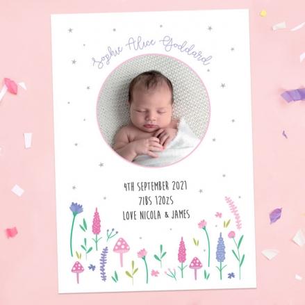 Baby-Announcement-Cards-Fairy-Garden