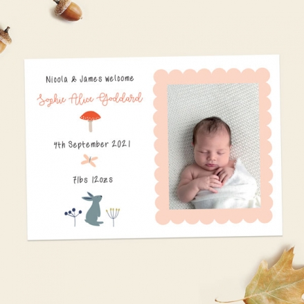 Baby-Announcement-Cards-Whimsical-Forest