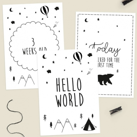 My-First-Year-Milestone-Cards-The-Adventure-Begins