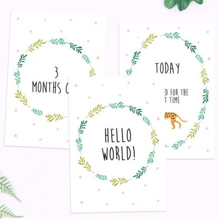 My-First-Year-Milestone-Cards-Girls-Go-Wild