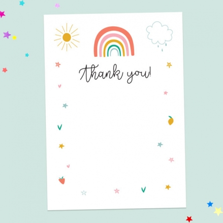 Baby-Thank-You-Cards-Chasing-Rainbows