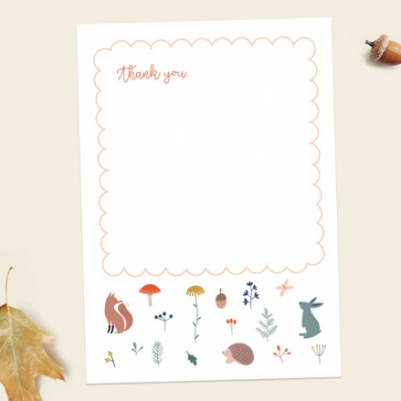 Baby-Thank-You-Cards-Whimsical-Forest