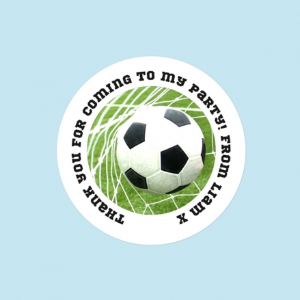 Back of the Net - Sweet Bag Stickers - Pack of 35