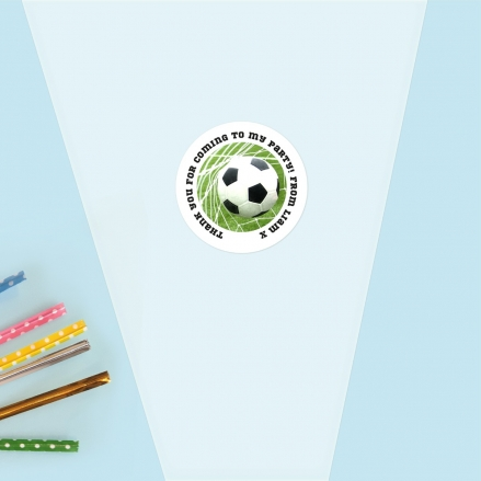 Back of the Net - Sweet Cone Bag & Sticker - Pack of 35