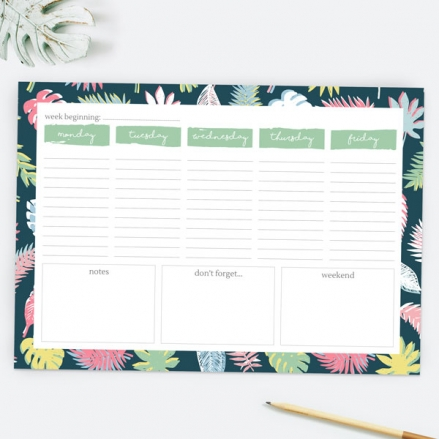 Be-Leaf In Yourself - Desk Planner