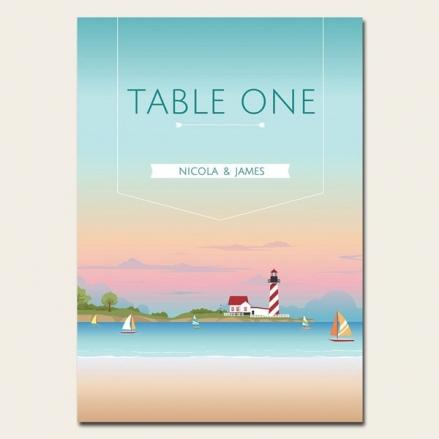 Coastal Scene - Table Name/Number