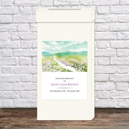 Funeral Post Box - Beautiful Landscape
