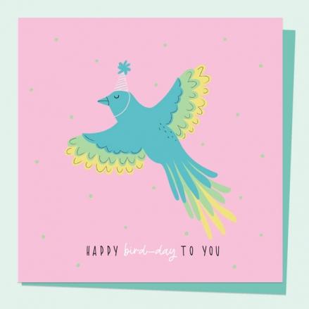 general-birthday-card-party-animal-bird