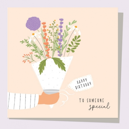 General-Birthday-Card-Birthday-Bloom-Bouquet-To-Some-Special