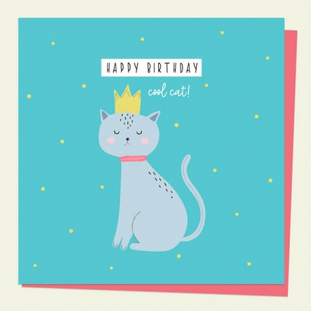 general-birthday-card-party-animal-cat