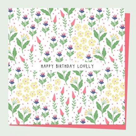 general-birthday-card-ditsy-bright-blooms-happy-birthday-lovely