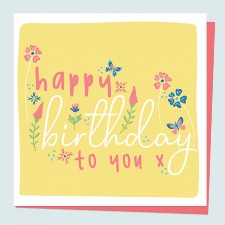 general-birthday-card-ditsy-bright-blooms-typography