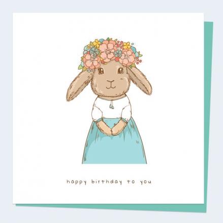 kids-birthday-card-flower-bunny