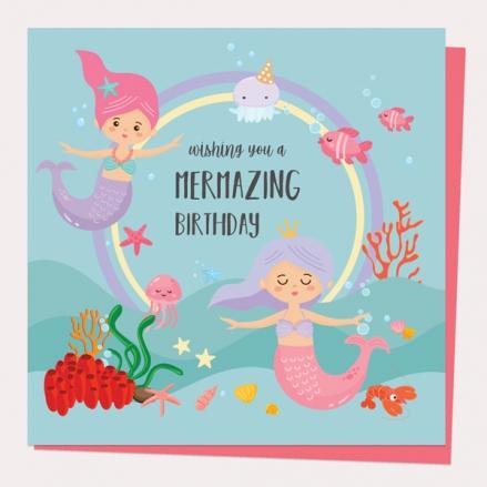 kids-birthday-card-mermaids