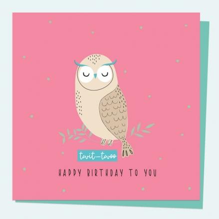 general-birthday-card-party-animal-owl