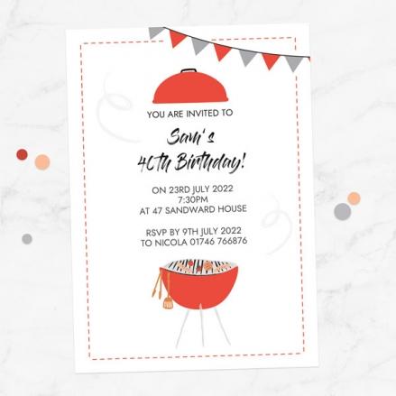 40th-birthday-invitations-barbecue-time