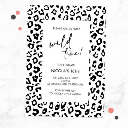 18th-birthday-invitations-black-leopard-print