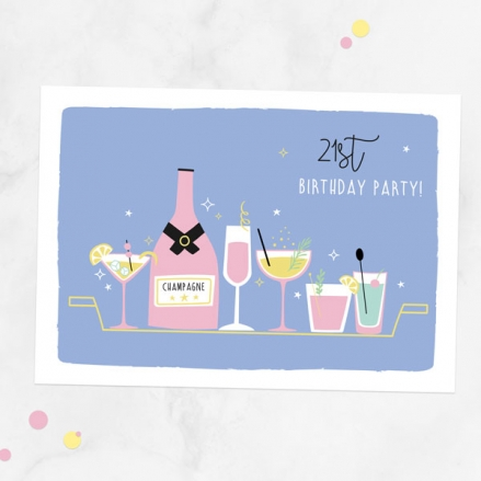 21st-birthday-invitations-cocktail-time