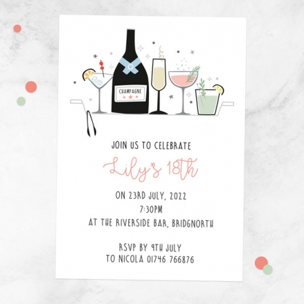 18th-birthday-invitations-happy-hour-cocktails